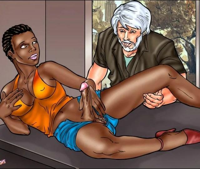 Black Shemale Cartoons Naked Post Op Transgender Having Sex