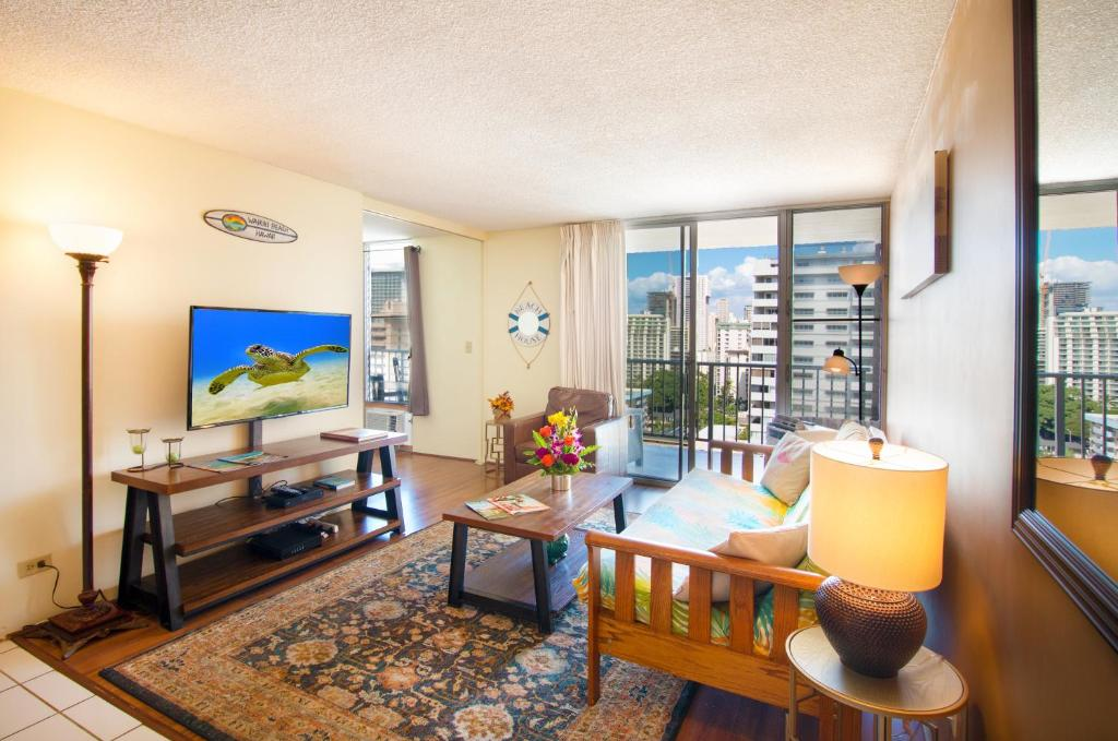 2 Bedroom Apartment Accommodation Honolulu