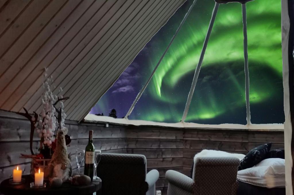 Saariselka Finland Northern Lights