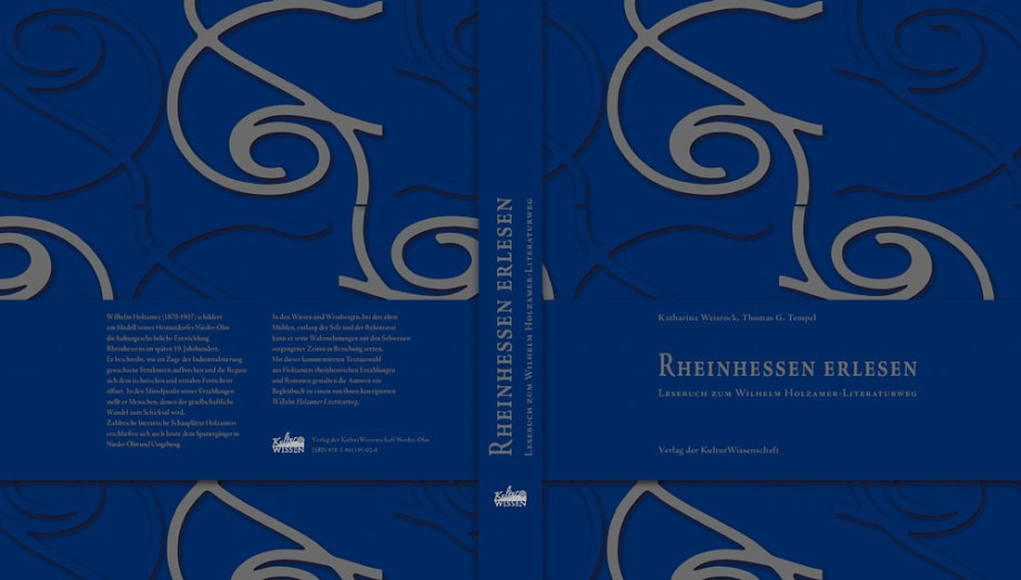 RheinhessenErlesen-Lesebuch zum Wilhelm Holzamer Literaturweg Nieder-Olm