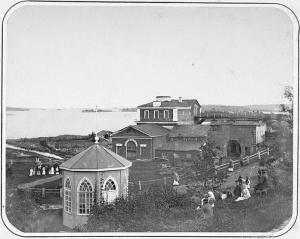 Завод в Кончезере. 1884 год