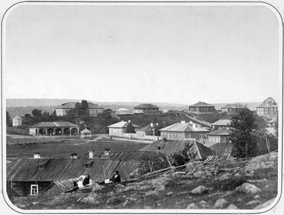 Кончезеро в 1884 году.