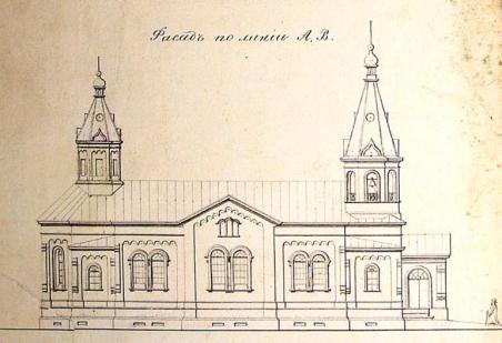Окончательный проект церкви