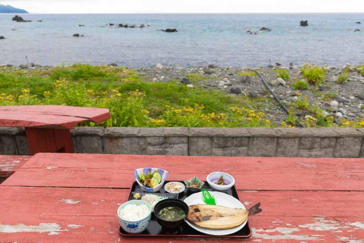 北の岬 さくらばなのほっけ定食