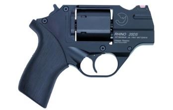CHIAPPA RHINO 2″ 200DS Revolver | Black | .357 Magnum/.38 Special (340.216)
