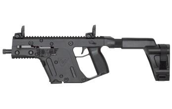 KRISS VECTOR – .45ACP Pistol w/ Stabilizing Brace | Black (KV45-PSBBL20)