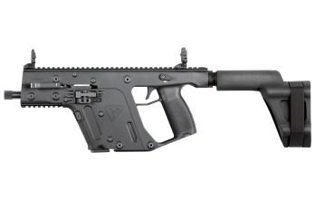 KRISS VECTOR – 9mm Pistol w/ Stabilizing Brace | Black  (KV90-PSBBL20)