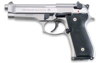 BERETTA 92FS INOX   Stainless   9mm   15rd (BEJS92F520M)