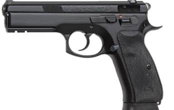 CZ 75 SP-0 FS (01152) 9MM BLACK 10+1 FS 4.7″ | SAFETY 9mm