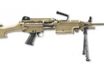 FNH – FN56501 M249S MILITARY COLL 5.56MM FDE 223 Rem | 5.56 NATO (SPECIAL ORDER – CONTACT US)