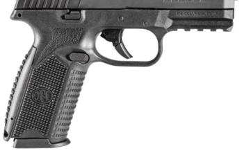 FN 509 9MM BLK 4″ 17+1 FS STRIKER FIRED/NO MANUAL SAFETY 9mm (FN66-100002 )