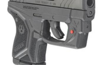 RUGER LCP II 380ACP 2.75″ BLK FS 6RD with Viridian Laser