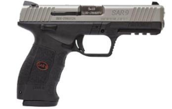 SAR-USA SAR9ST  9MM 4.4″ 17RD STS