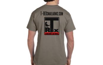 T-REX SMALL ARMS T-Shirt | Adult | Prairie Dust