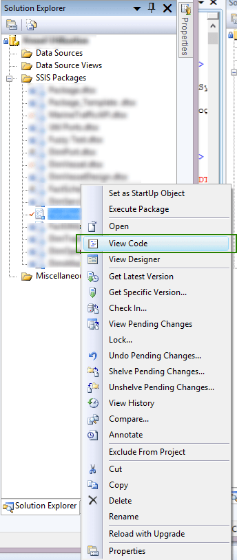 Microsoft Visual Studio is unable to load this document | T