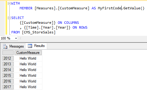 My First Code