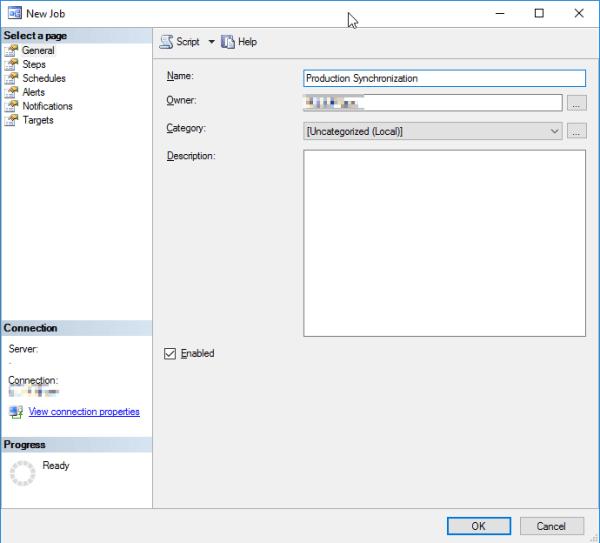 SQL Agent Job Name