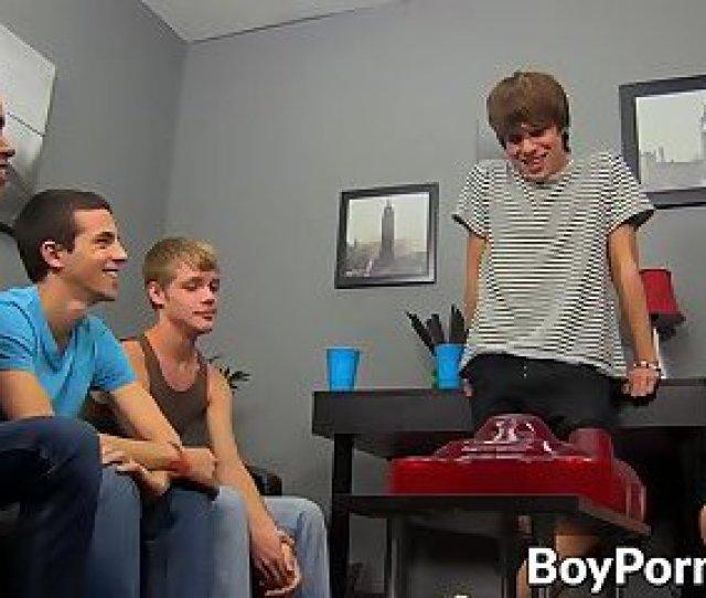 Handsome Guys Enjoying A Hottest Orgy Around
