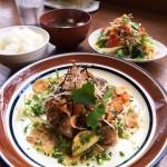北野エリアの穴場です、食堂とカフェ ピナータ