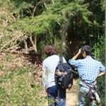 NHKラジオ取材「秋の七草」H30.10.3