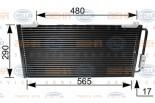 Chłodnica klimatyzacji - skraplacz BEHR HELLA SERVICE (8FC351035-641)