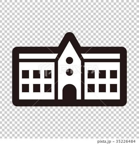 矢量 學校 醫院-插圖素材 [35226484] - PIXTA圖庫