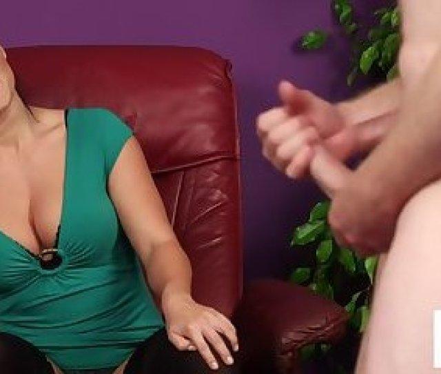 Cfnm Milf Instructing Naked Submissive