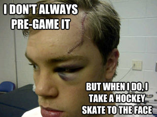 Hall Skate To The Face