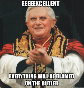 Ratzinger cattivo