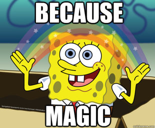 Spongebob magic