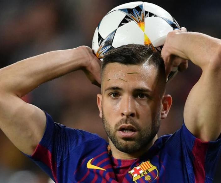 Jordi Alba is yet to be contacted over Barca renewal. GOAL