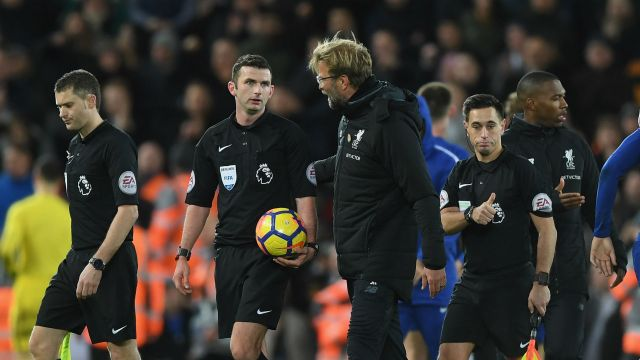 Klopp laments ref obstruction in Chelsea draw - BeSoccer