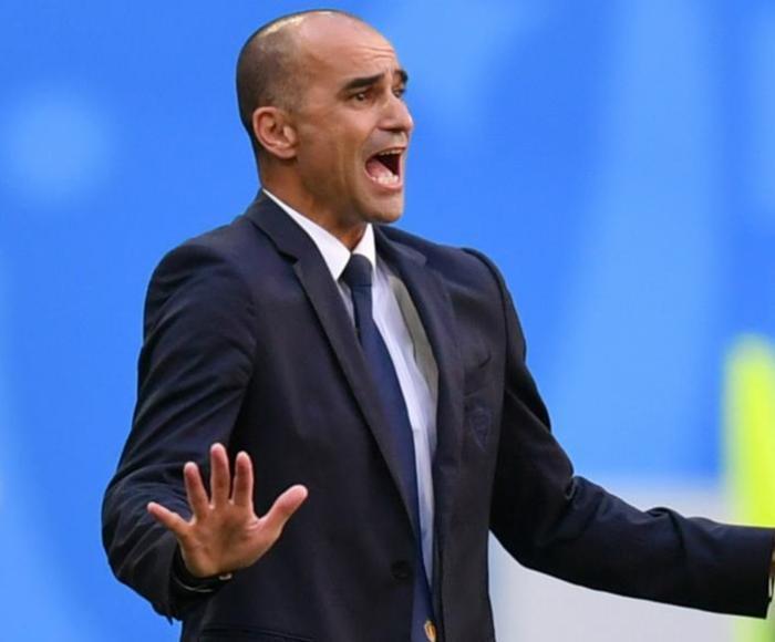 Roberto Martinez is happy as Belgium boss. GOAL
