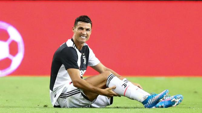 Ronaldo to sit out Juventus practice after suffering muscle ...