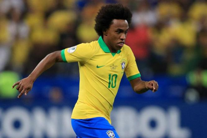 Brazil's Willian ruled out of Copa America final