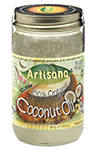 raw, organic coconut oil