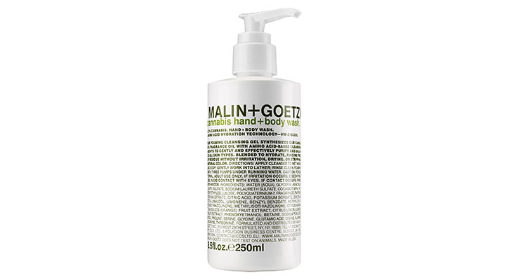 Malin + Goetz Cannabis Hand & Body Wash at Barneys New York