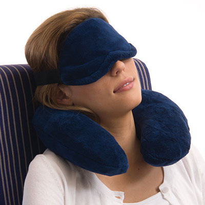 Brookstone Nap Travel Flight Kit