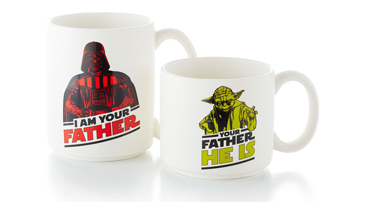 Darth Vader and Yoda Mug Set