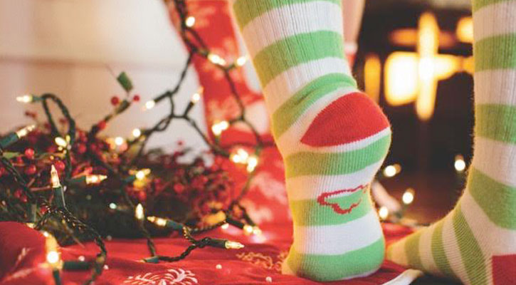 Classic Over the Calf Holiday Socks