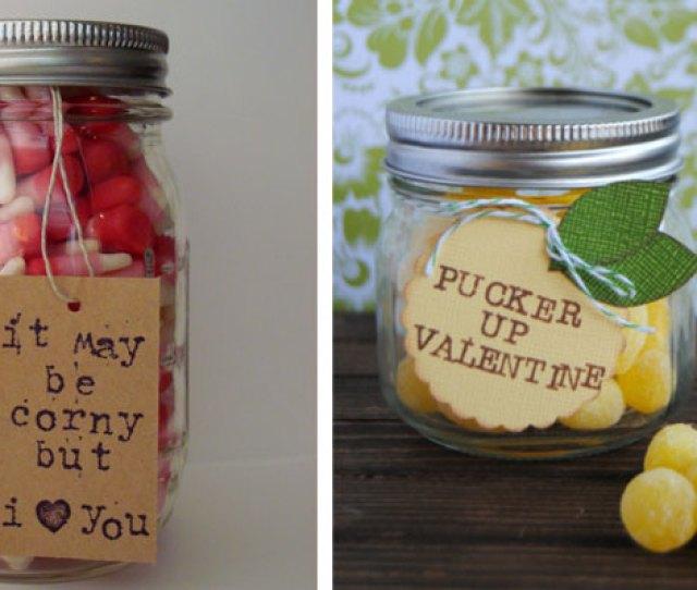 Mason Jar Valentines Day