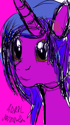 First time using ibs paint on my phone my oc by lmsmart58 on DeviantArt