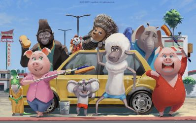 singmovie   Explore singmovie on DeviantArt Under Our Sky by Tragobear
