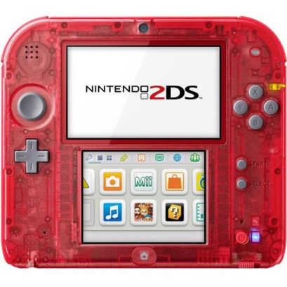 Nintendo2DS_Transparent_Red_front