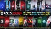 『PES 2015(ウイイレ2015)』、ブラジルリーグの21クラブ(1部20クラブ、2部1クラブ)を収録
