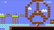 マリオの乗ったドットGLAが走る、WiiU『スーパーマリオメーカー』でメルセデス・ベンツと再びコラボ。イベントコース、キャラマリオ登場
