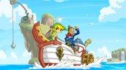 WiiU VC:『ゼルダの伝説 夢幻の砂時計』が北米eショップに登場、タッチペンで遊ぶ新感覚ゼルダ