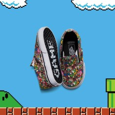 VANS×NINTENDO COLLECTION - CLASSIC SLIP-ON