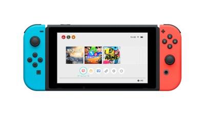 Nintendo Switch - HOME メニュー