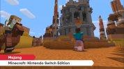 『Minecraft: Nintendo Switch Edition』のマップサイズやフレームレート、WiiU 版からのデータ引き継ぎ